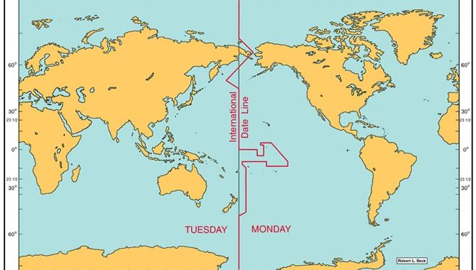 On The Edge: The International Date Line In Halacha